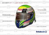Coup de projecteur sur le casque de Felipe Massa