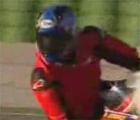 Vidéo moto : Michael Jordan sur une moto