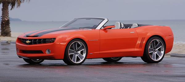Officiel : la Chevrolet Camaro cabriolet arrivera en 2011