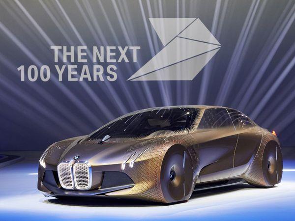 BMW Vision Next 100 Concept : la bavaroise du siècle prochain