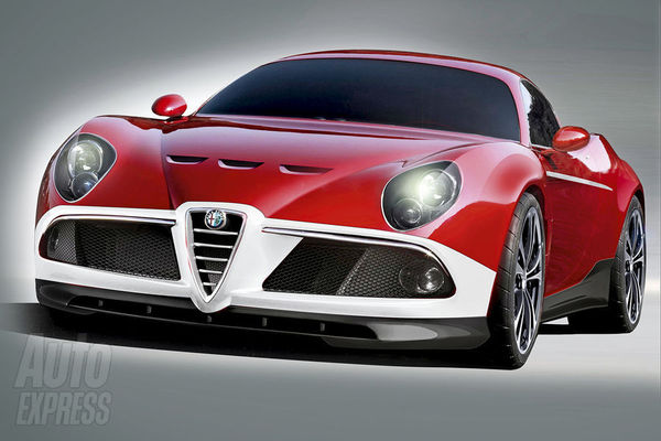Alfa Romeo 8C GTA : comme ça ?