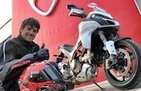 La production de la nouvelle Ducati Multistrada 1200 a débuté... Checa en a déjà une!