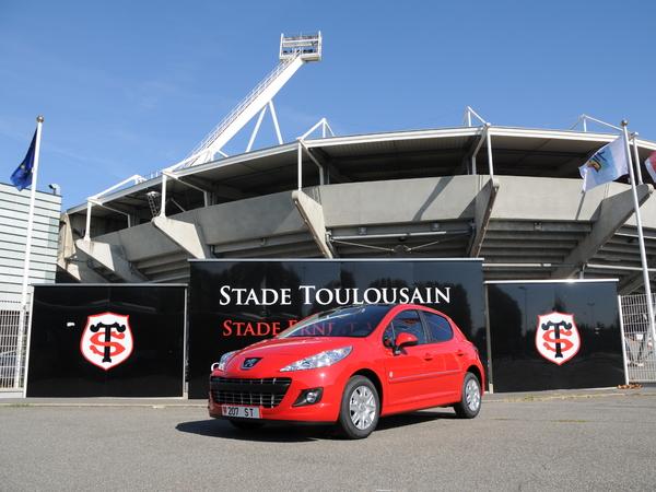 Peugeot 207 Stade Toulousain : une série spéciale limitée à 100 exemplaires