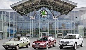 Skoda : 15millions de voitures produites depuis le début de l'ère Volkswagen
