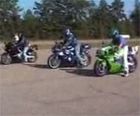 Vidéo moto : quand on ne maîtrise pas