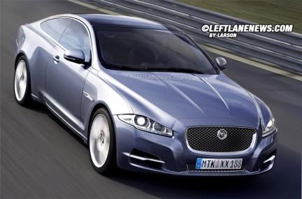 Future Jaguar XJC : comme ça ?
