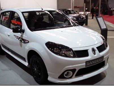 Un look sportif pour la Renault Sandero GT Line