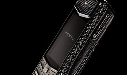 Vertu Ascent Ti Carbon Fibre : light is expensive