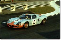 FORD GT 40 (64-69) : les voitures officielles 1964/65