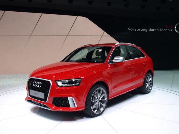 Vidéo en direct du Salon de Genève 2013 - Audi Q3 RS : RS fever