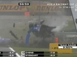 [Vidéo] Crash effrayant pour l'Audi A4 d'Alexandre Prémat en DTM