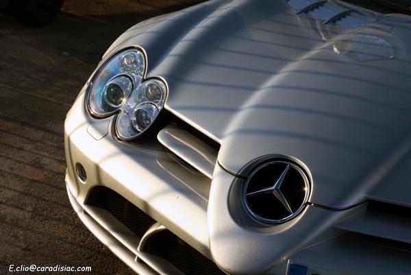 Photos du jour : Mercedes SLR Mc Laren