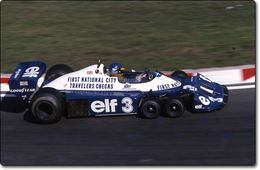 Tyrrell P 34 : Le Mille pattes