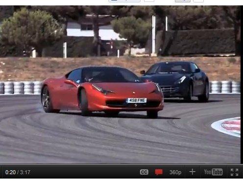 Jeremy Clarkson explique comment une Ferrari FF peut battre une Ferrari 458