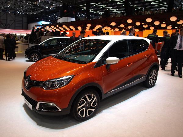 Vidéo en direct du Salon de Genève 2013 - Renault Captur : sexy