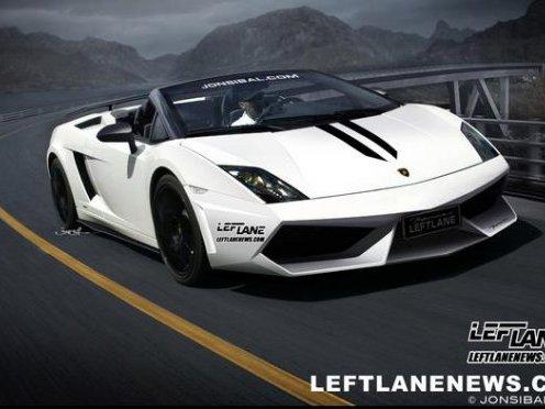 Lamborghini Gallardo Superleggera Spyder : présentation au salon de Los Angeles ?