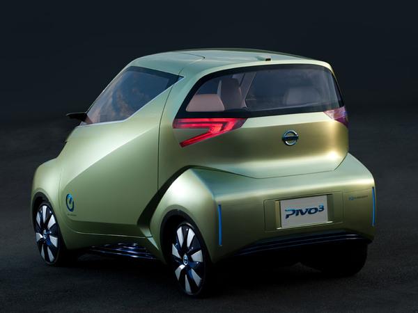 Tokyo 2011 : Nissan Pivo 3, plus réaliste
