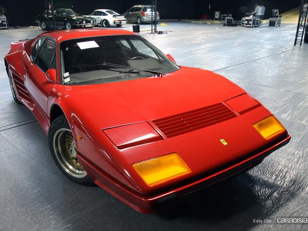 Photos du jour : Ferrari BB512i (Vente Artcurial)