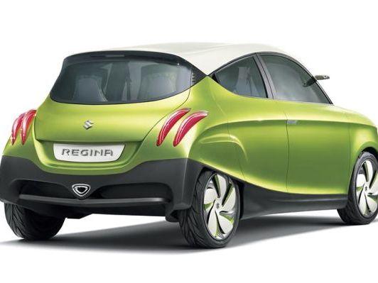 Tokyo 2011 : Suzuki Regina Concept, décalée
