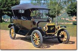 Ford T (1908-1927) : La dame en noir