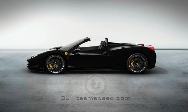 Ferrari 458 Italia : la Spider à nouveau imaginée