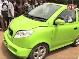 Le premier véhicule électrique ougandais construit par des étudiants