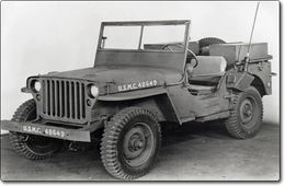 Jeep Wyllis MB/Ford GPW (1941-1945) : La voiture universelle