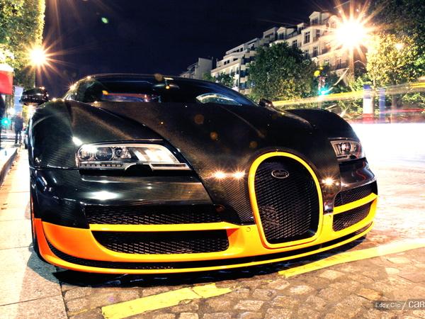 Photos du jour : Bugatti Veyron SuperSport World Record Edition