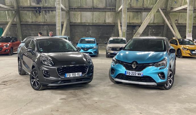 Comparatif - Renault Captur vs Ford Puma : une place sur le trône - Salon de l'auto Caradisiac 2020