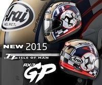 Arai RX-7 GP: Isle of Man TT façon 2015