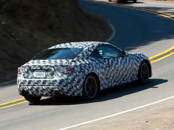 Future Subaru BRZ : quelques données qui mettent en appétit