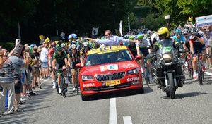 Tour de France : Skoda en Kodiaq et Karoq