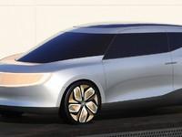 Un artiste imagine un van Honda électrique