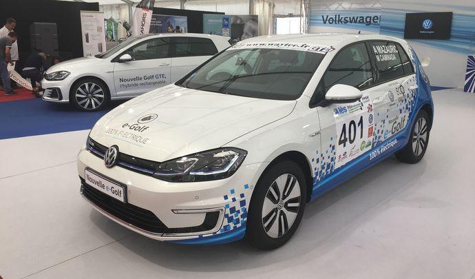 Le stand Volkswagen - Vidéo en direct du Salon de Val d'Isère 2017