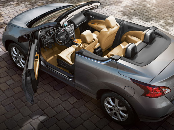 le nissan murano crosscabriolet tire sa r v rence. Black Bedroom Furniture Sets. Home Design Ideas