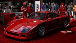 GT5 Prologue : premières images de la Ferrari F40 (mais aussi de la Citroën C4 !)