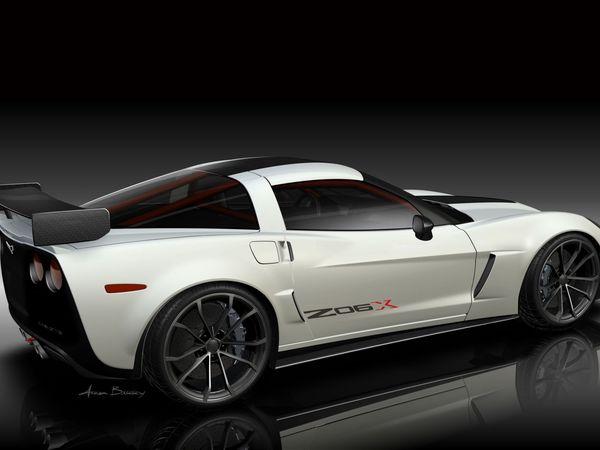 SEMA 2010 : Corvette Z06X, comme une Viper ACR-X ?