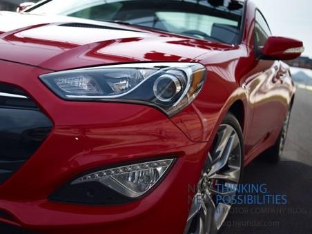 Hyundai Genesis Coupé : les 2 premières photos officielles et quelques autres moins officielles