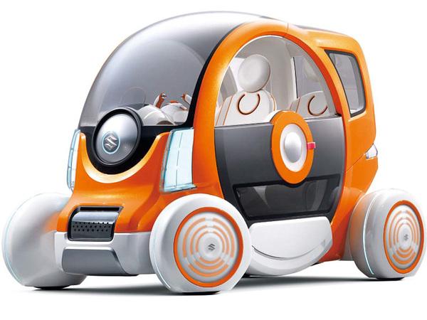 "Tokyo 2011 : Suzuki Q Concept, la ""city toy car"""