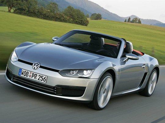 Roadster VW Bluesport : ce sera pour 2014