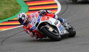 MotoGP - Allemagne J.1: Dovizioso s'affirme et Rossi déprime