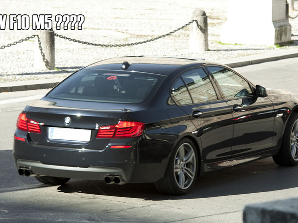 Spyshot : Future BMW M5 ou Serie 5 M Sport Package ?