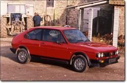 Alfa Romeo Alfasud : Révolution de palais