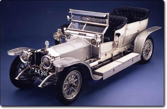 Rolls royce silver ghost le fant me d 39 argent - Ghost fantome ...