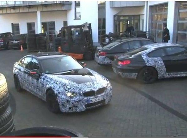 [vidéo] La future BMW M3 sur et autour du Nürburgring