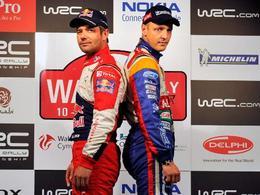 WRC Grande Bretagne - Shakedown : Ostberg et Meeke devant, Hirvonen stoppé par des problèmes de frein