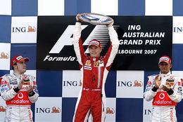 Sondage GP Australie F1 : donnez-nous votre podium !