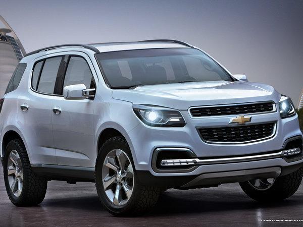 Dubai Motor Show 2011 : le nouveau Chevrolet Trailblazer