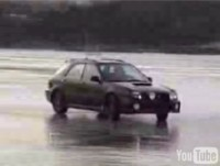 La vidéo du jour : danse sur glace en Subaru Impreza