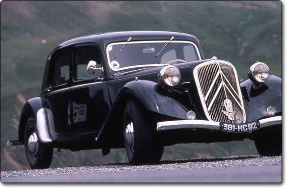 Nouvelle 208 2019 >> Citroën Traction (1934-1957) : La reine de la route